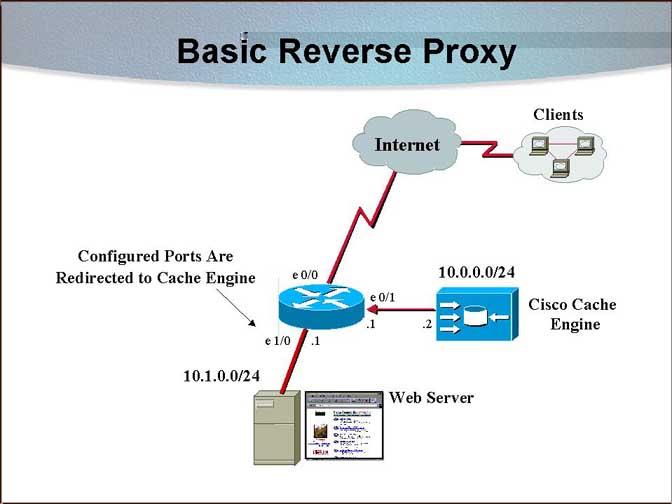 Reverse Proxy و افزایش امنیت و سرعت وب سرور